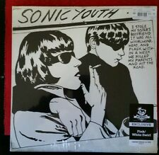 SONIC YOUTH GOO NEWBURY COMICS LIMITED PINK/WHITE SWIRL VINYL. LIMITED TO 1000