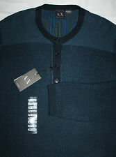 ARMANI EXCHANGE sweater size 2XL new with tag MEN'S pullover 100% cotton