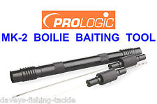 PROLOGIC BLACK QUICK RELEASE BOILIE NEEDLE KIT CARP FISHING BAITING DRILL TOOL