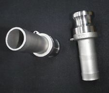 "STAINLESS STEEL CAM LOCK ADAPTER  1"" MALE - 1"" HOSE BARB"