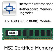1GB MSI G41M-P25 / MS-7592 VER: 6.0 DDR3 Memory Upgrade PC3-10600 1333MHz RAM