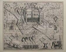KREFELD. Orig. Kupferstich aus BAUDARTIUS, ca. 1625