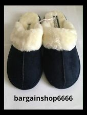 LADIES EXTRA SOFT CUSHIONED FUR MEMORY FOAM FUR LINED MULE SLIPPER size 5/6