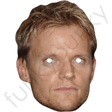 Marc Warren Celebrity Card Mask - All Our Masks Are Pre-Cut!