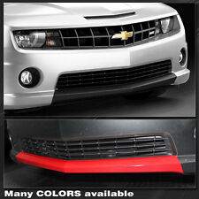 Chevrolet Camaro SS Front Valance Blackout Overlay Stripes 2010 2011 2012 2013