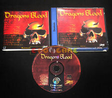 DRAGONS BLOOD Dreamcast Dc Dragon Versione Europea PAL ••••• COMPLETO