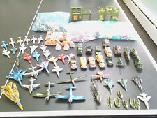 Huge Lot Army Men Toys + Planes Jets Tanks Trucks Helicopters Boats Rockets Guns