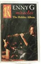 KENNY G Miracles The Holiday Album 1994 CASSETTE TAPE - NEW/CASSETTE TAPE