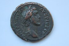 ANCIENT ROMAN ANTONINUS PIUS AS COIN 2nd CENT AD CAESAR