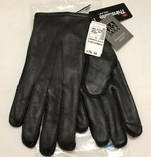 $79.50 Jos A Bank Thinsulate Lambskin Leather Black Dress Touch Screen Glove L