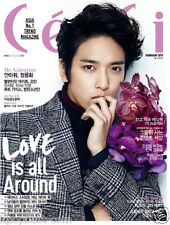 Jung Yong Hwa (One Fine Day) Cover & Photos CECI MAGAZINE 2015 Feb. BTS Cnblue