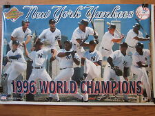 Yankees 1996 World Series Champs Collage Poster Derek Jeter Mariano Rivera Boggs