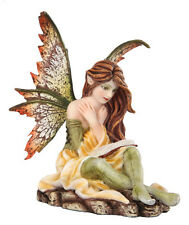 Autumn Fairy Reading Statue Fairyland Legend Ada Leyendo Libro Otono