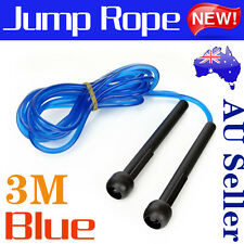 Crossfit MMA Boxing Speed Cardio Gym Excercise Fitness Skipping Jump Rope 3M PVC