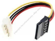 "Lot10 6"" 4pin Male Molex~SATA Female, Drive Power Adapter Cable/Cord/Wire$SHdisc"