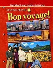 Workbook and Audio Activities (Bon voyage! Glencoe French 1), , Acceptable Book