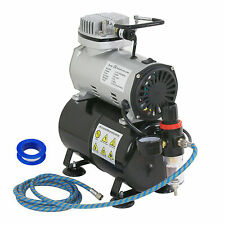 1/5 HP Airbrush Air Brush Compressor Kit With 3L Tank Paint Hobby Cake Tattoo
