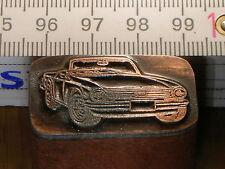 TRIUMPH ITALIA   schöner Oldtimer Stempel / Siegel aus Metall