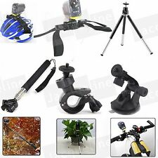 Accessories Helmet Kit Bike Selfie Tripod for Sony Action Cam HDR AS200V AS100v