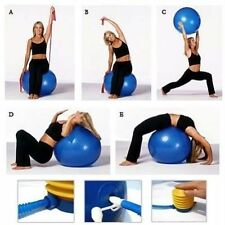 Physio balance yoga fitness 95cm gym exercise Aerobic Ball inflatable with PUMP