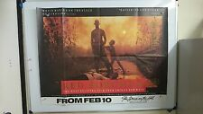 Red Sorghum Original UK Quad Movie Film Poster 1987 Chinese Rare
