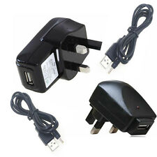 UK Wall  Adaptor Charger with USB cable for 7'' Inch Tablet Fuhu NABI NABI 2NV7A