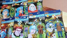 COLLECTION OF 7 MATCHBOX ROBOTECH ACTION FIGURES ~ ENEMIES ONLY ~ ALL SEALED PKG