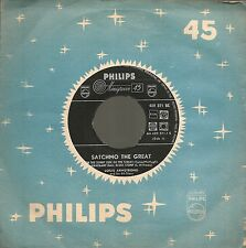 "45 TOURS / 7"" SINGLE JAZZ--LOUIS ARMSTRONG--ON THE SUNNY SIDE OF THE STREET"