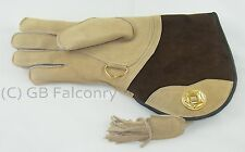Suede Leather Falconry Glove (Double skin) Right Handed