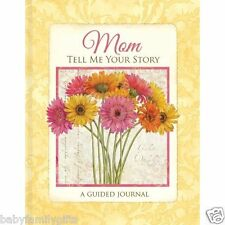 New Seasons Mom Mother Tell Me Your Story Guided Journal by Tim Coffey Daisies