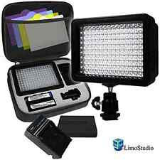 LimoStudio 160 LED Video Light Lamp Panel Dimmable for DSLR Camera DV Camcorder,