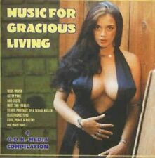 Music for gracious Living Russ Meyer's Faster Pussycat, Betty Page, Bad T.. [CD]