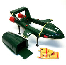"Gerry Anderson Supersize 13"" THUNDERBIRD 2  ship toy  with TB4 & 1 mini figure"