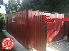 2,5x6,0 R3005 Blechgarage Fertiggarage Metallgarage RAUM KFZ REIFEN LAGER GARAGE