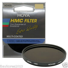 HOYA 77mm HMC ND400 Filter Multi-Coated Neutral Density NDx400 Lens Filter 77mm