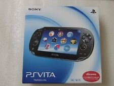 Used PlayStation Vita 3GWiFi model Crystal Black Consoles PCH-1100 AA01