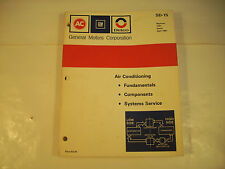 General Motors Corporation SD-15 Air Conditioning Fundamentals GC 131G