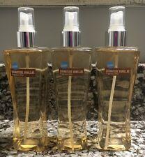 Bath And Body Works Signature Vanillas COCONUT Fragrance Mist Splash X3