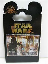 Star Wars Darth Vader on a Carousel Pin - New on Card - Released 2014 - #102100
