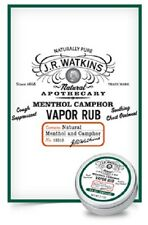 JR WATKINS Natural Menthol Camphor Vapor Rub - 95% Natural
