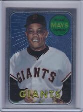 WILLIE MAYS 1997 Topps Mays Finest #23 (1969 Topps)   (B6637)