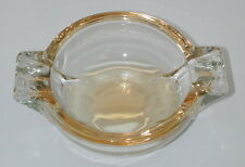 Very Cool Vintage Colored Glass Ashtray 3 inlets on each side