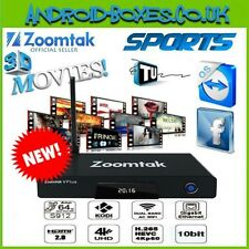 Zoomtak t8v PLUS 16GB 64bit Android 6.0 MARSHMALLOW TV BOX PLUG AND PLAY