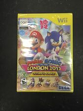 Mario and Sonic At The London 2012 Olympic Games Wii New