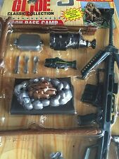 """GI Joe 12"""" Classic Collection RECON BASE CAMP Mission Gear MOC!"""