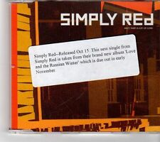 (FM964) Simply Red, Ain't That A Lot Of Love - 1999 DJ CD