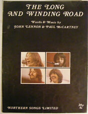 THE BEATLES The Long & Winding Road Ex Northern '70 UK Music Sheet
