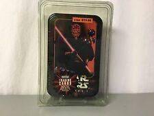 Star Wars Episode I Topps Trading Cards Sealed In Tin 7 Packs & Bonus #32R