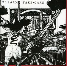Take Care - He Said (G. Lewis Of Wire) (2011, CD NEUF)