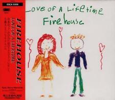 FIREHOUSE Love Of A Lifetime JAPAN ONLY 5-track CD OBI +CHRISTMAS CARD ESCA 5508